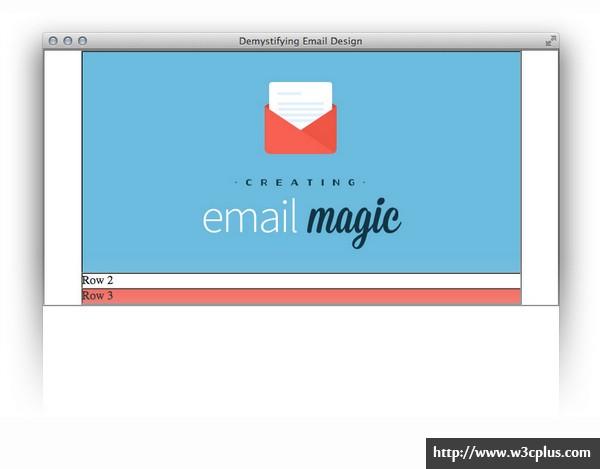 从头开始构建一个HTML电子邮件模板