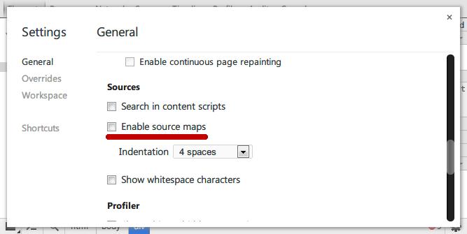 关闭SourceMap