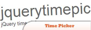 Time Picker jQuery Plugin