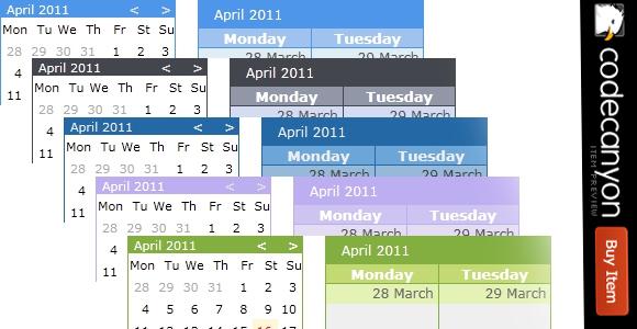 O Calendar - jQuery Event Calendar