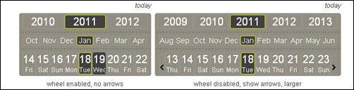 jQuery.Calendar Picker