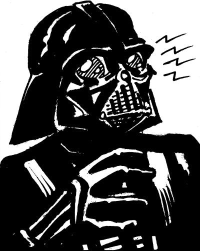Darth Vader Sketch