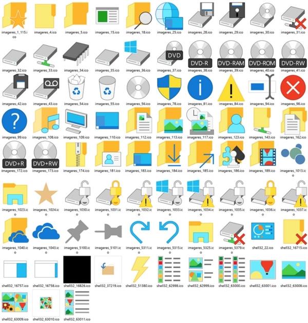Windows 10图标丑得惊天动地!看这个……
