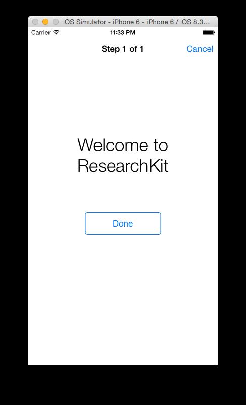 HelloWorld example screenshot