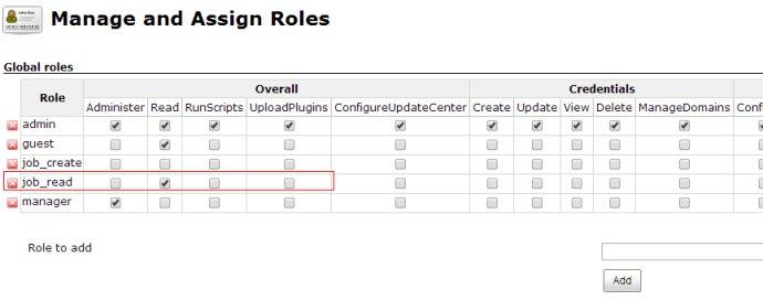 jenkins权限管理,实现不同用户组显示对应视图views中不同的jobs