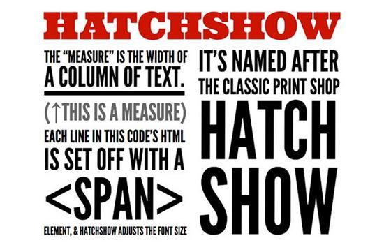 HatchShow