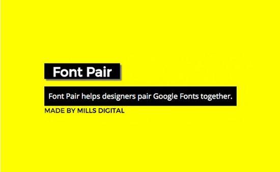 Font Pair