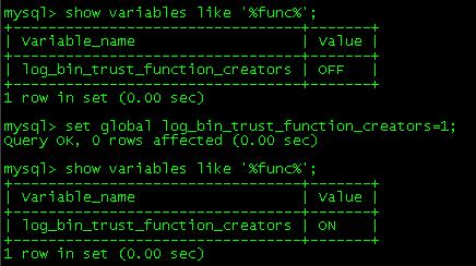 [Err]1418&nbsp;<wbr>This&nbsp;<wbr>function&nbsp;<wbr>has&nbsp;<wbr>none&nbsp;<wbr>of&nbsp;<wbr>DETERMINISTIC,NO&nbsp;<wbr>SQL,or&nbsp;<wbr>R