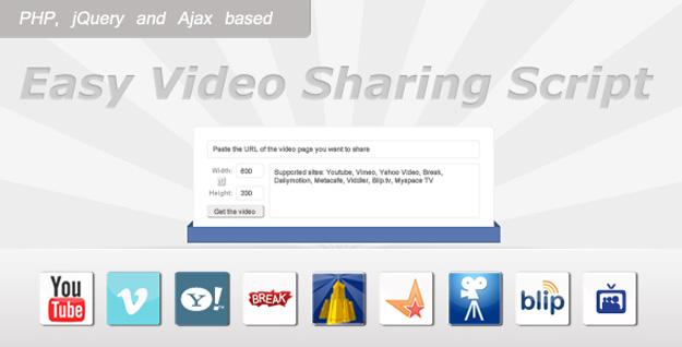 easy-video-sharing-script