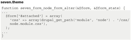 Drupal 7插入JS和CSS的方法