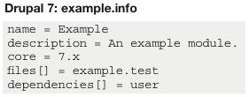 Drupal 7描述文件