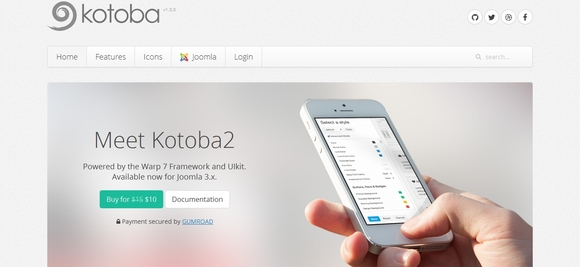 Meet Kotoba2 - joomla templates
