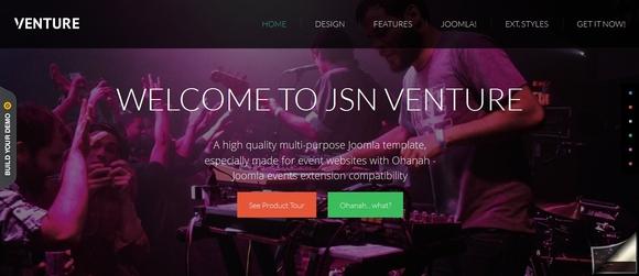 JSN Venture - free joomla templates