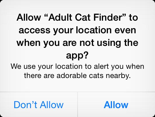 Core Location Always Authorization