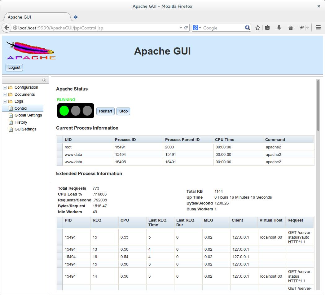 ApacheGUI