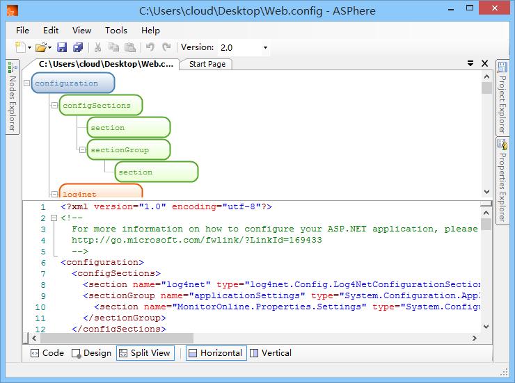 web-config-editor