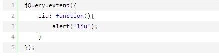 jQuery.extend和jQuery.fn.extend的区别