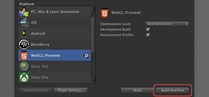 WebGL project
