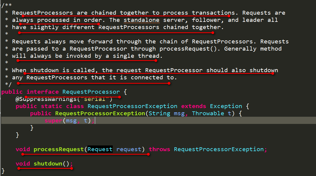 RequestProcessor定义