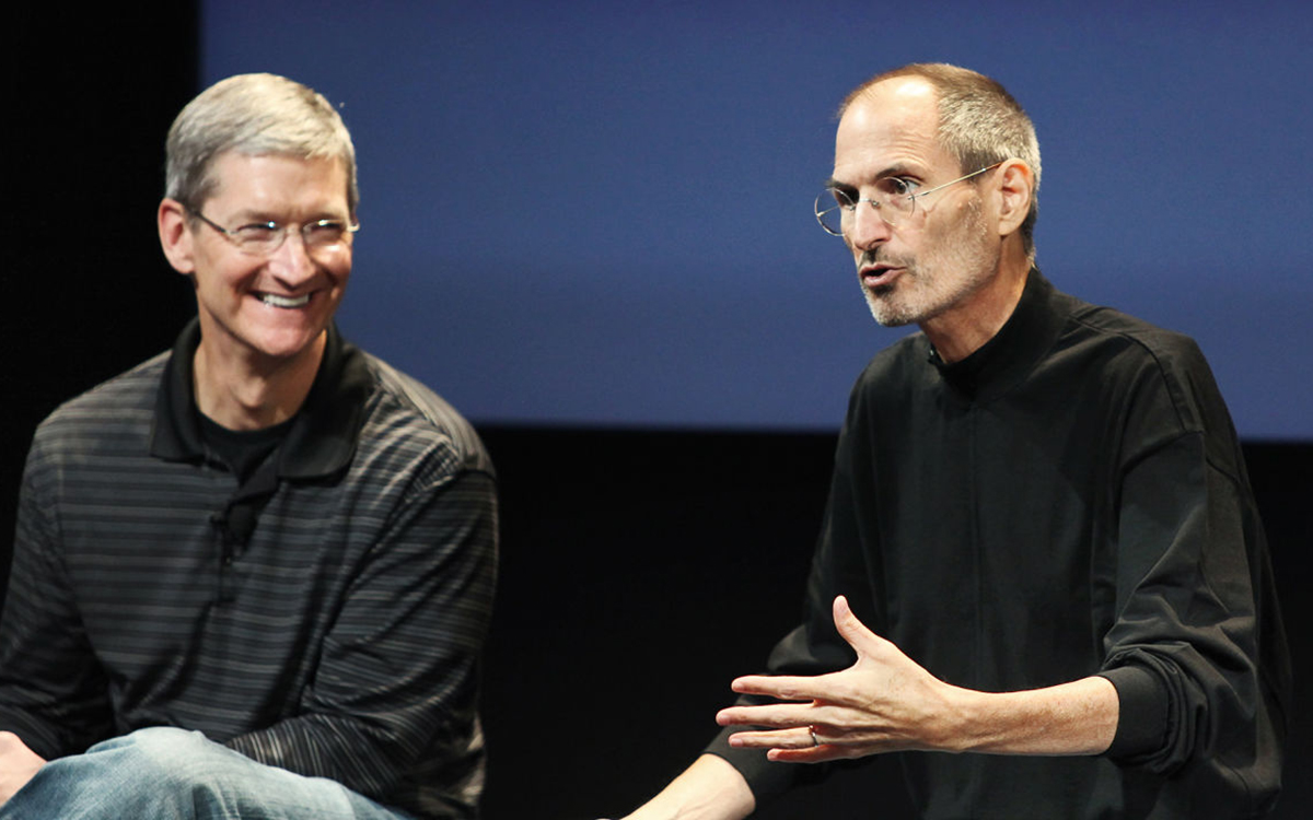 steve jobs, tim cook