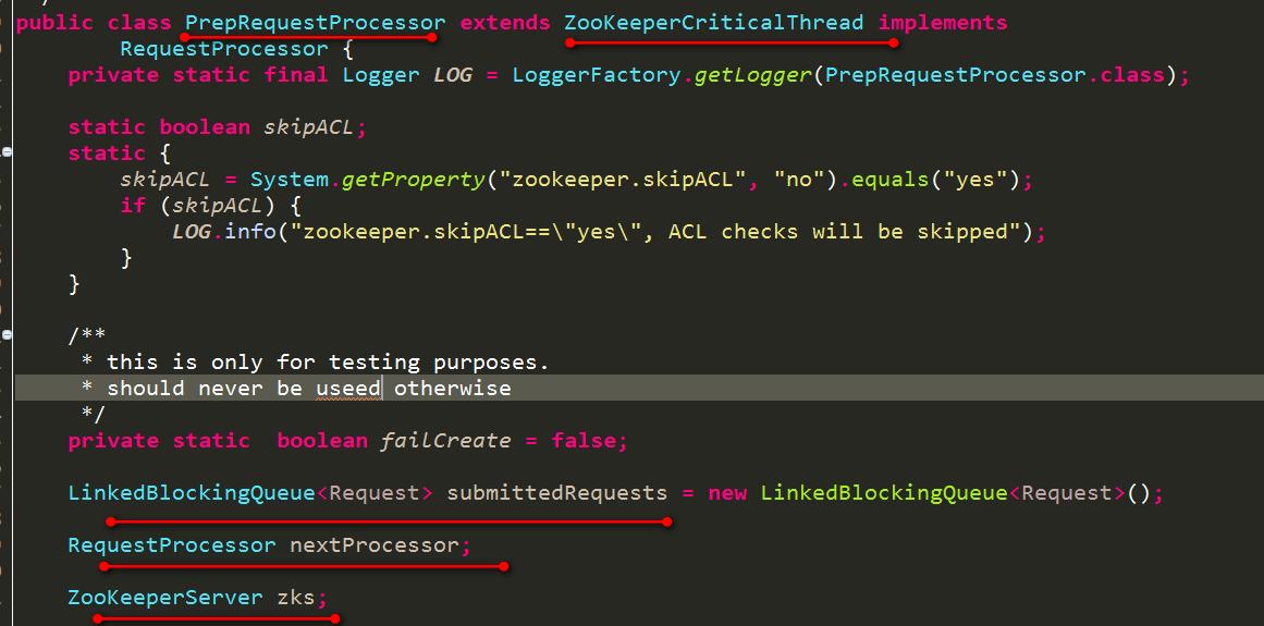 PrepRequestProcessor属性
