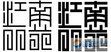 AI多种设计字体的方法与英文字体收藏