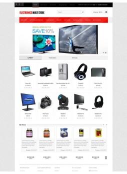 Electronics Multistore OpenCart 自适应主题模板 ABC-0189