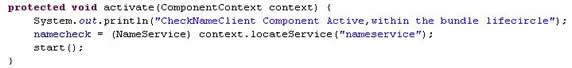图示 8:采用 Lookup 策略的引用姓名查询服务