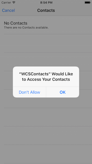 WCSContactPicker