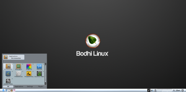 Bodhi Linux 3.1.0 AppPack Desktop