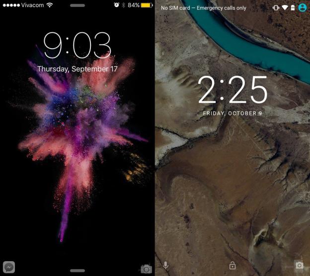 ios-9-vs-android-6.0-marshmallow-lock-screen