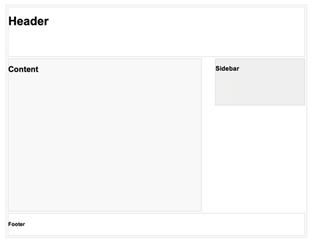 页面布局示例