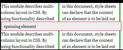 CSS3多列Multi-column布局