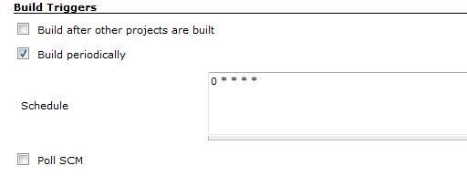 图 11. 选择如何触发构建
