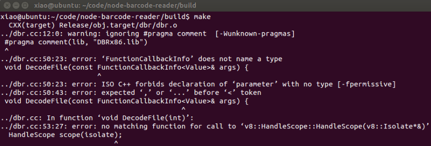 如何在Ubuntu上创建Node js Addon - yushulx的个人页面- OSCHINA