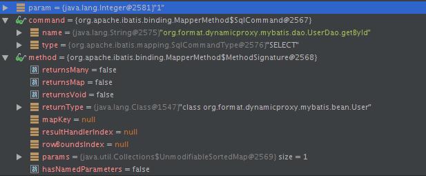debug看看MapperMethod的execute方法