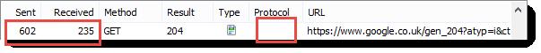 HTTPS 报头大小