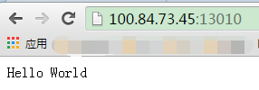 uwsgi http方式启动