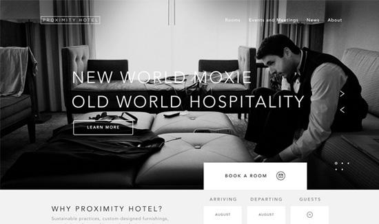 22个鼓舞人心的旅游网站设计欣赏 - ppt模板下