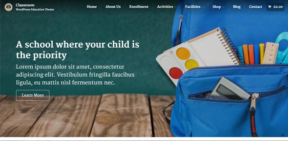 Classroom---Responsive-WordPress-School-Theme