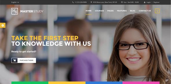 Masterstudy---Education-Center-WordPress-Theme