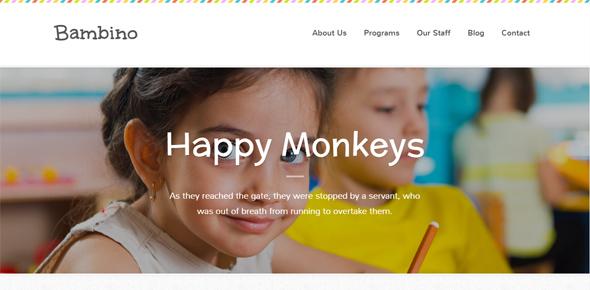 Bambino---Children-WordPress-Theme