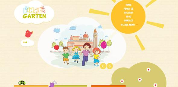 Kindergarten-WordPress-Theme