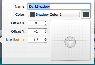 PaintCode outer shadow