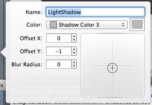 PaintCode inner shadow