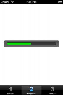 Progress bar frame fixed