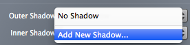 Add new shadow in PaintCode