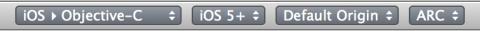 PaintCode code settings