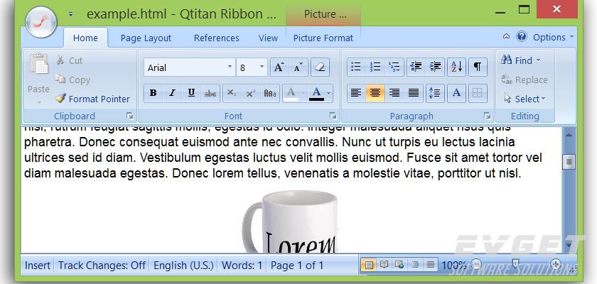 QtitanRibbon 跨平台Ribbon组件