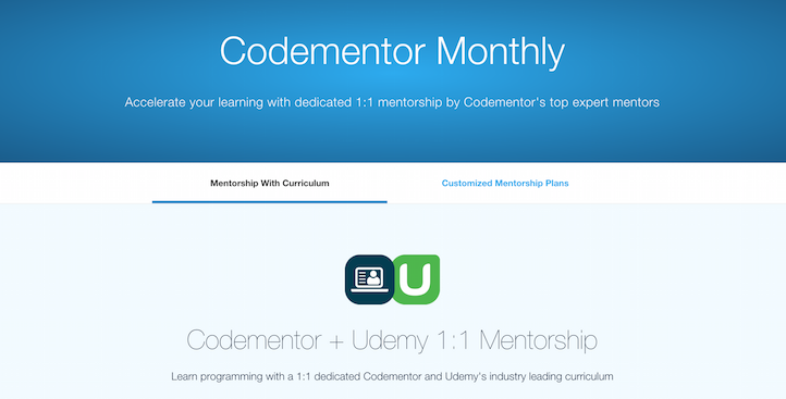 Codementor Udemy
